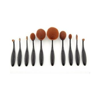 Oval Brushes Set - 10Pcs